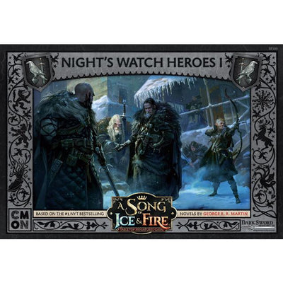 ASoIaF Miniatures Game - Nights Watch Heroes #1 product-item1