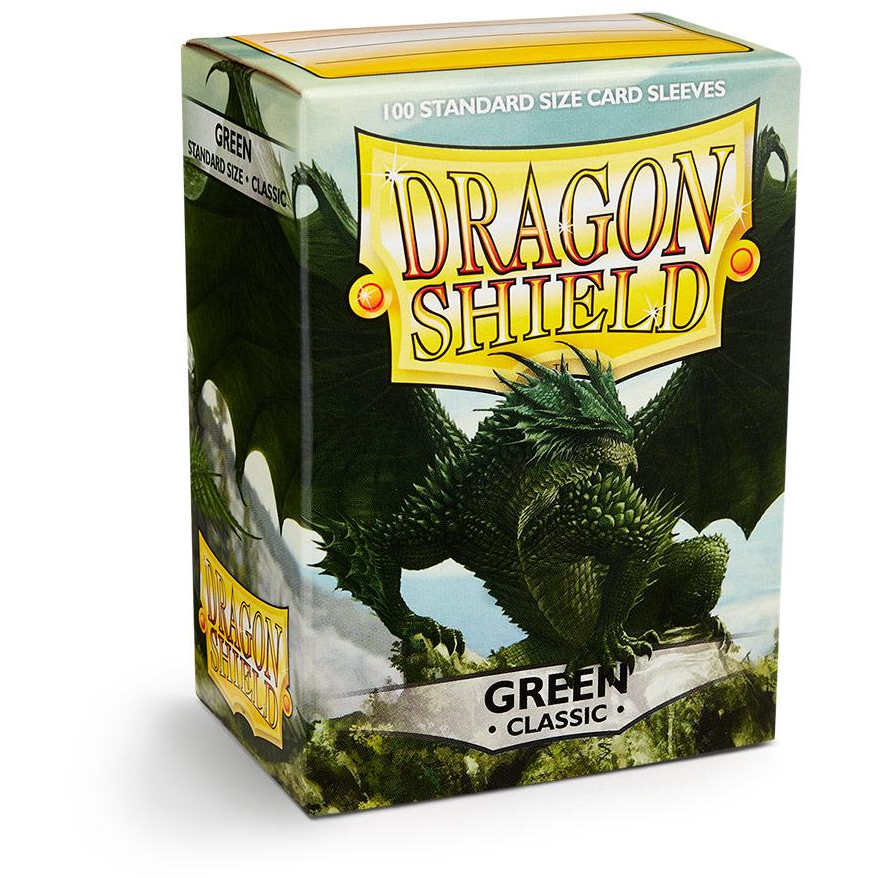 Dragon Shield Sleeves - Green (100pk)