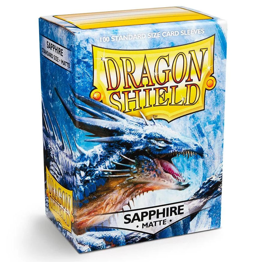 Dragon Shield Sleeves Matte - Sapphire (100pk)