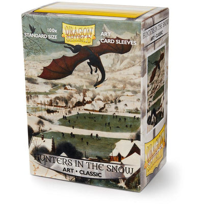 Sleeves - Dragon Shield - Box 100 ART Sleeves 'Hunters in the Snow' product-item1