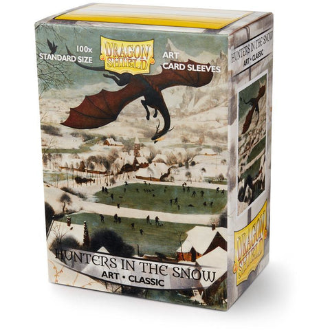 Sleeves - Dragon Shield - Box 100 ART Sleeves 'Hunters in the Snow'