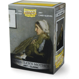 Sleeves - Dragon Shield - Box 100 ART Sleeves 'Whistler's Mother'