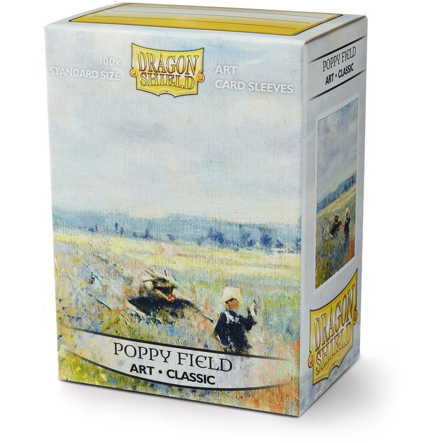 Sleeves - Dragon Shield - Box 100 ART Sleeves 'Poppy Field'