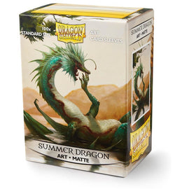 Sleeves - Dragon Shield - Box 100 ART MATTE Sleeves 'Summer Dragon'