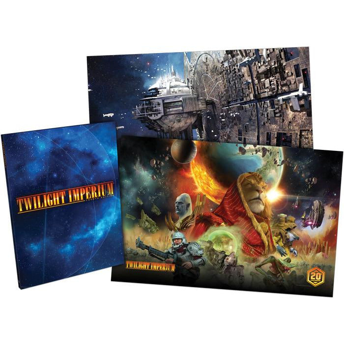 Twilight Imperium: 4th Edition Rulebook & Print