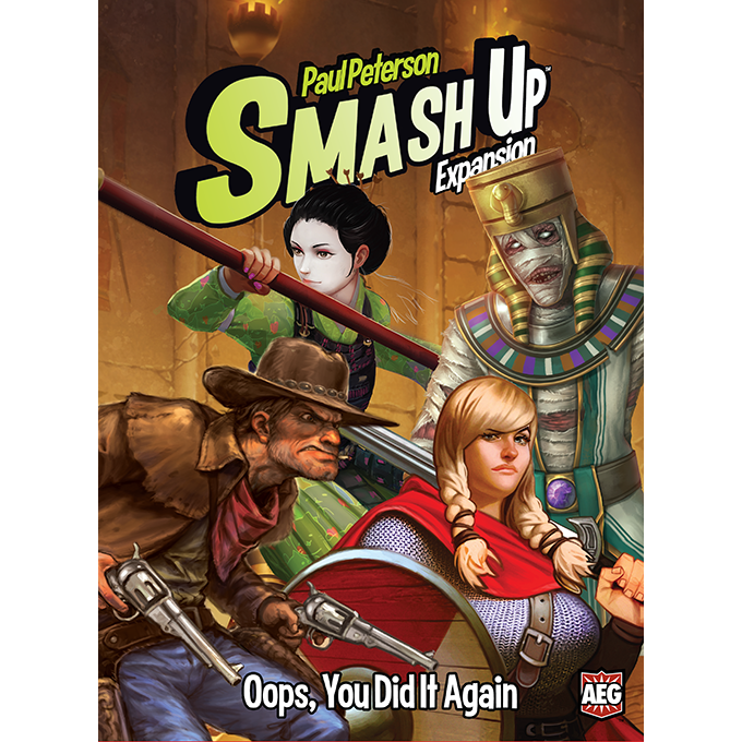 Smash Up Oops, You Dit It Again