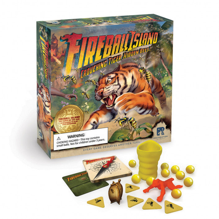 Fireball Island: The Curse of Vul-Kar - Crouching Tiger, Hidden Bees Expansion