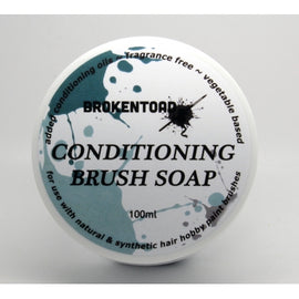 Broken Toad: Conditioning Brush Soap