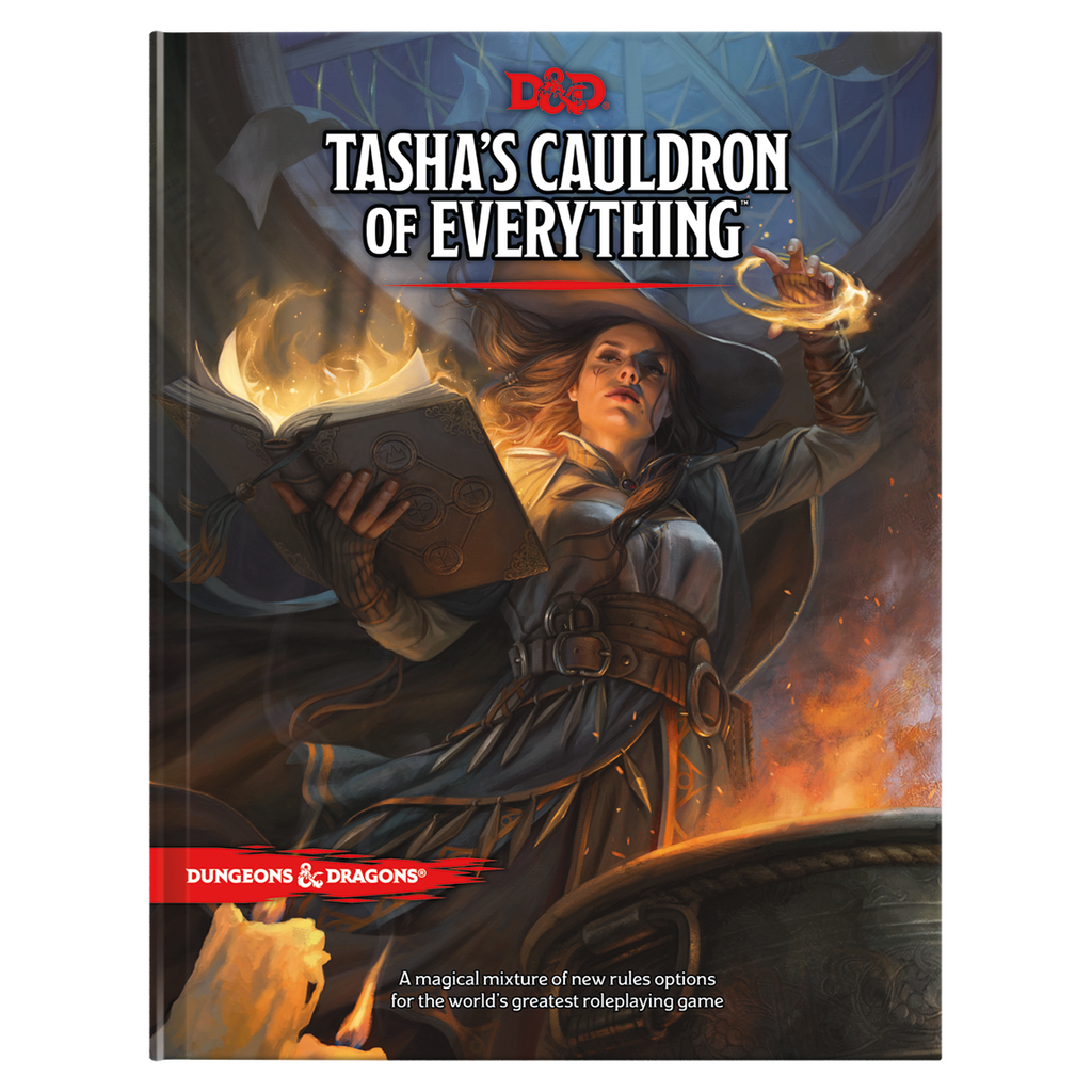Dungeons & Dragons - Tasha's Cauldron of Everything