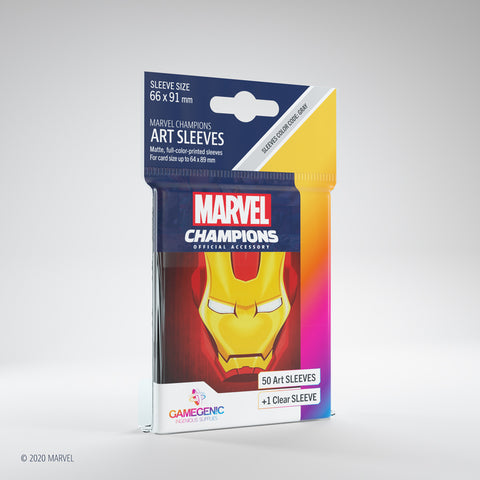 Marvel Champions Art Sleeves - Iron Man