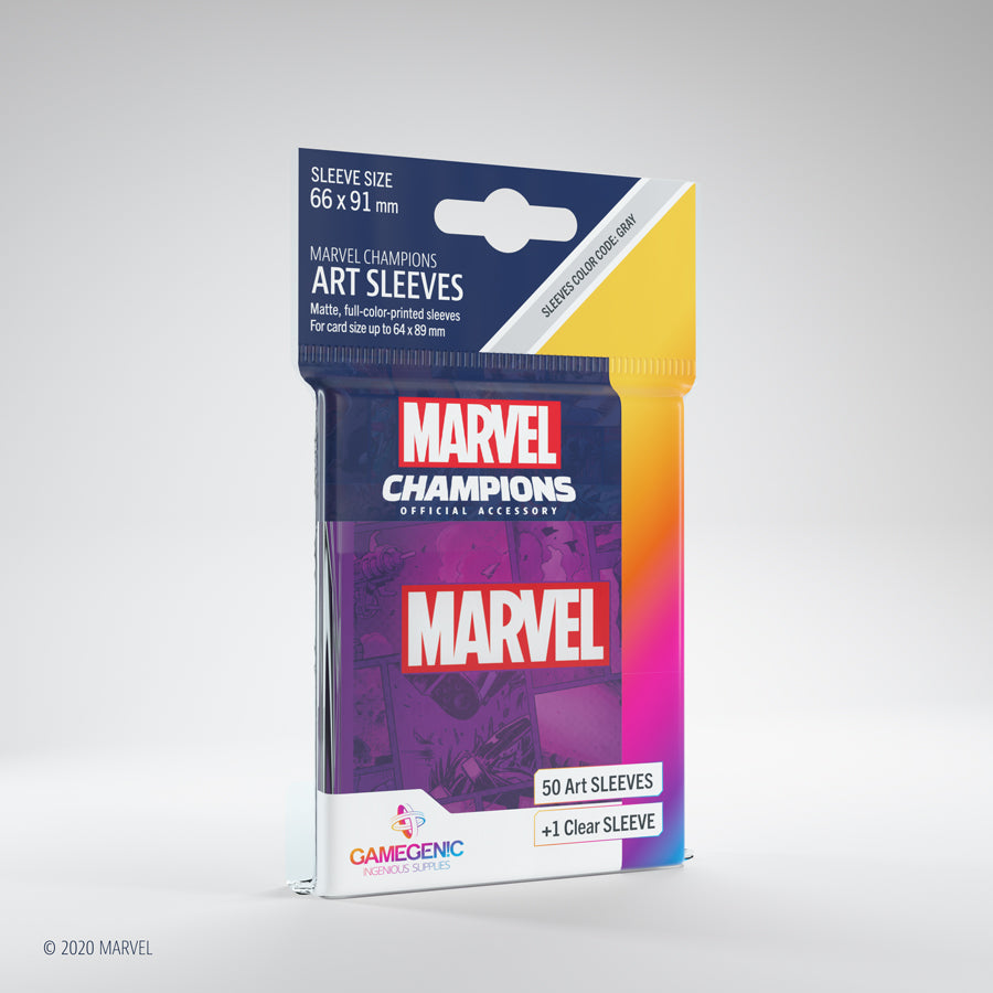 Marvel Champions Art Sleeves - Purple