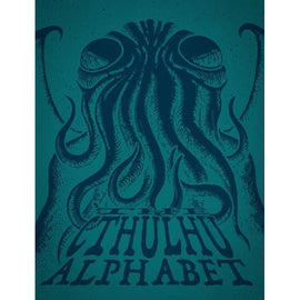 Cthulhu Alphabet - Limited Edition Cerulean Foil (System Neutral Sourcebook) (HC)