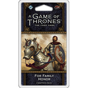 A Game of Thrones: The Card Game - 2nd Edition - For Family Honor