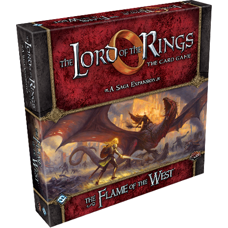 The Lord of the Rings: The Card Game - The Flame of the West Expansion