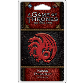 A Game of Thrones: The Card Game - 2nd Edition - House Targaryen Intro Deck