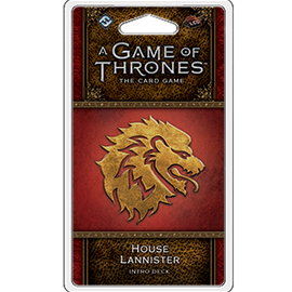 A Game of Thrones: The Card Game - 2nd Edition - House Lannister Intro Deck