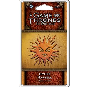 A Game of Thrones: The Card Game - 2nd Edition - House Martell Intro Deck