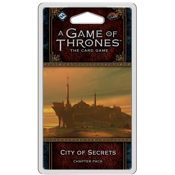 A Game of Thrones: The Card Game - 2nd Edition - City of Secrets