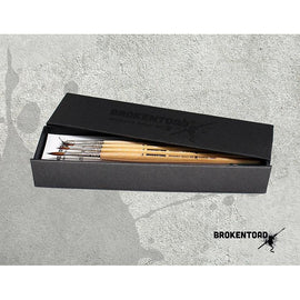 Broken Toad: Miniature Series MK3 Brush Set