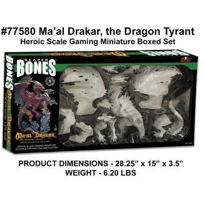 Ma'al Drakar the Dragon Tyrant (Boxed Set) (77580)