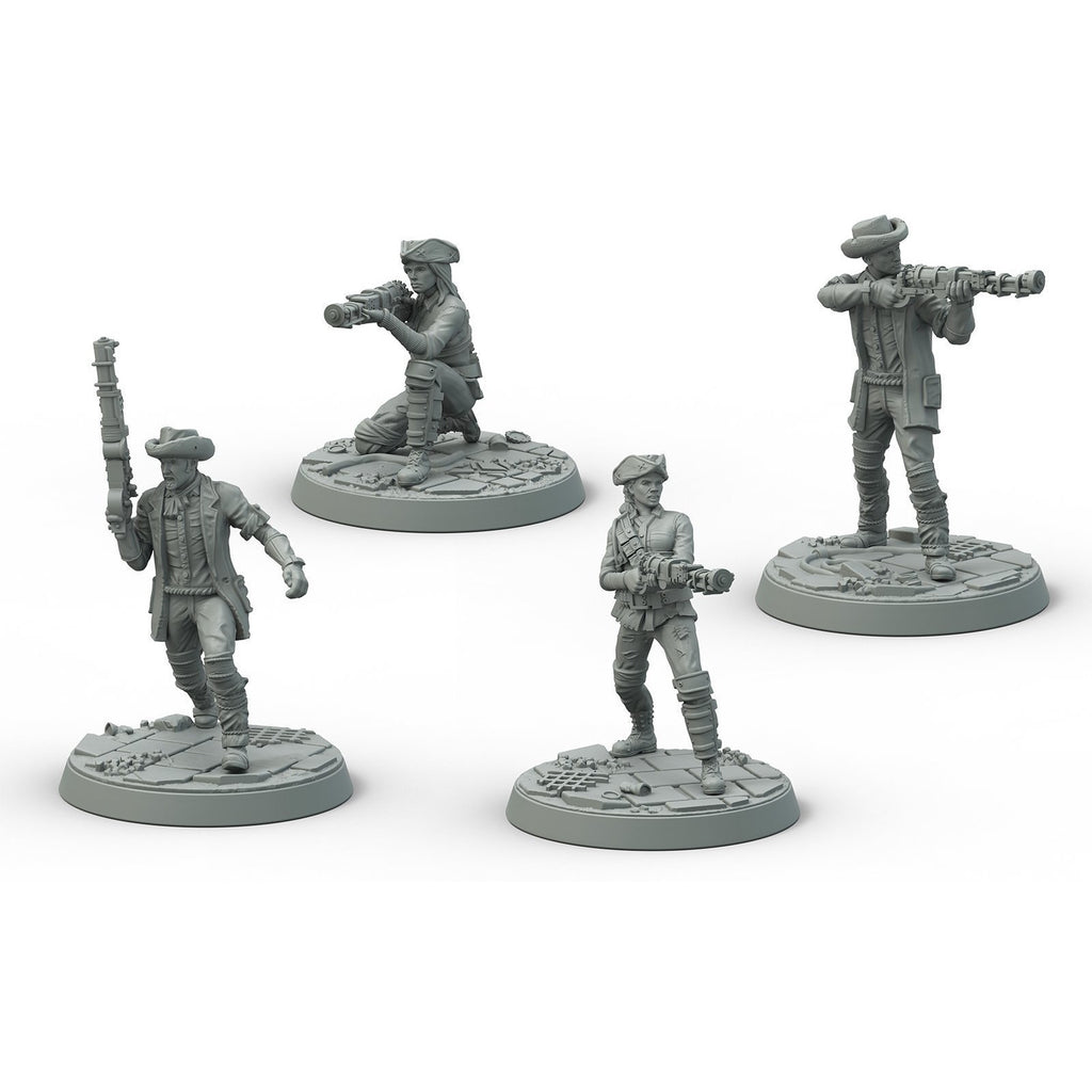 Fallout: Wasteland Warfare - Survivors Minutemen Posse