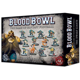 Blood Bowl - Dwarf Giants