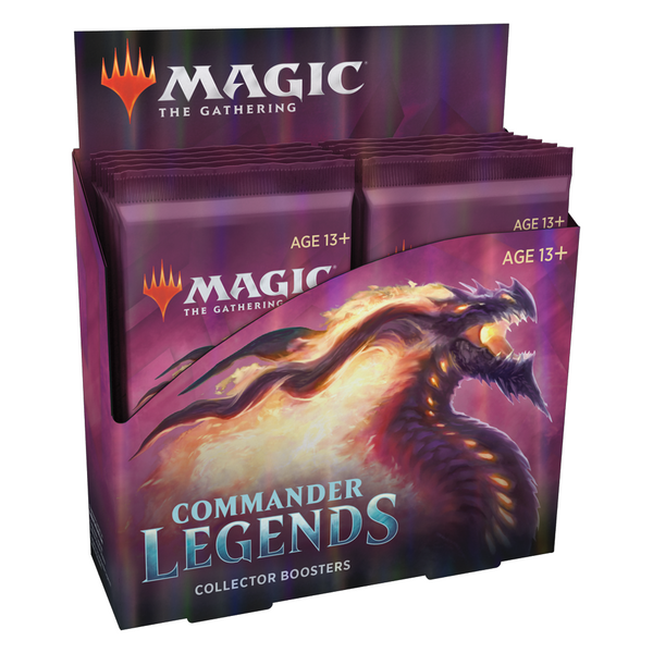 Commander Legends Collectors Booster Display