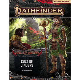 Pathfinder 2nd Edition: Age of Ashes Adventure Path - Cult of Cinders (#2)