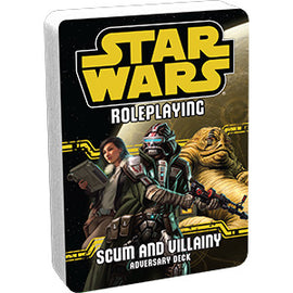 Star Wars Roleplaying: Scum and Villainy Adversary Deck