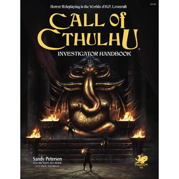 Call of Cthulhu Investigator Handbook (7th ed.) Hardcover product-item1