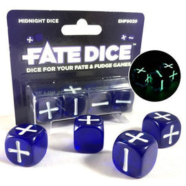 Fate Core Dice: Midnight