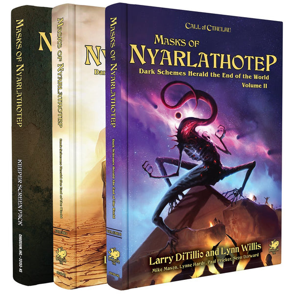 Masks of Nyarlathotep Slipcase Set product-item1