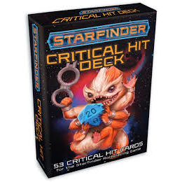 Starfinder Critical Hit Deck