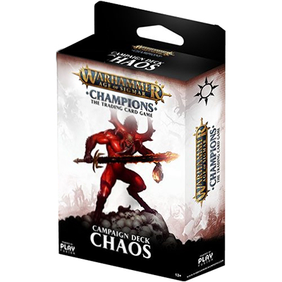 Warhammer: Age of Sigmar Champions - Chaos Campaign Deck