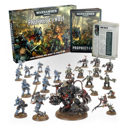 Warhammer 40000: Prophecy of the Wolf product-item1