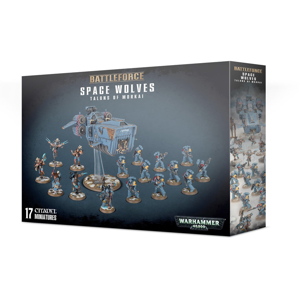 Battleforce: Space Wolves Talons of Morkai