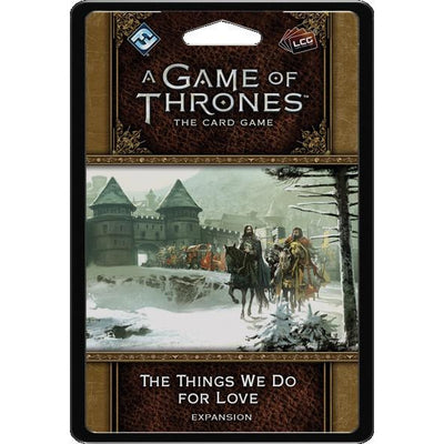 A Game of Thrones: The Card Game - 2nd Edition -  The Things We Do for Love product-item1