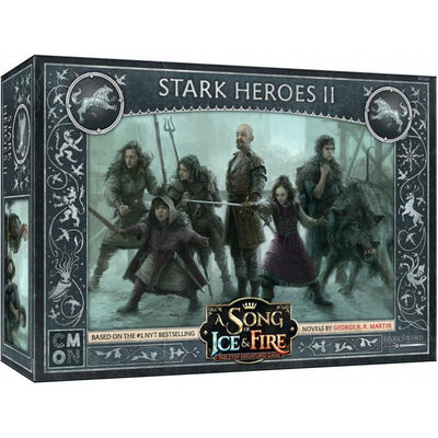 ASoIaF Miniatures Game - Stark Heroes #2 product-item1