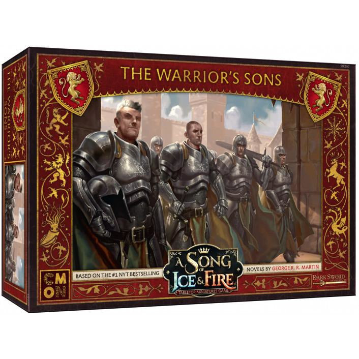 Warriors Fire And Ice Book: ASoIaF Miniatures Game