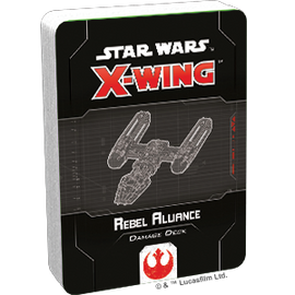 Star Wars X-Wing 2nd Edition: Rebel Alliance Damage Deck