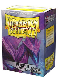Dragon Shield Sleeves Matte Non Glare - Purple (100pk)