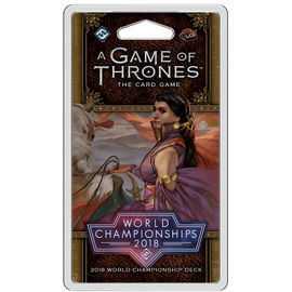 A Game of Thrones: The Card Game - 2nd Edition - 2018 World Championship Deck
