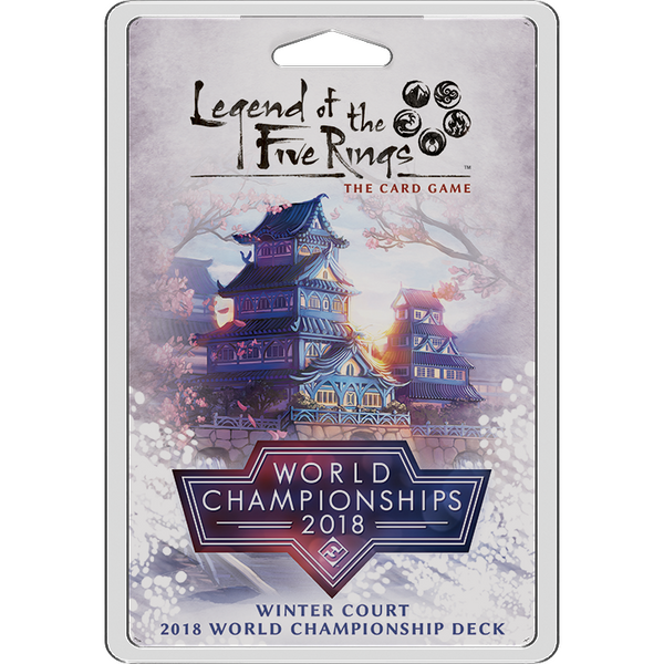 Legend of the Five Rings: The Card Game - Winter Court 2018 World Championship Deck