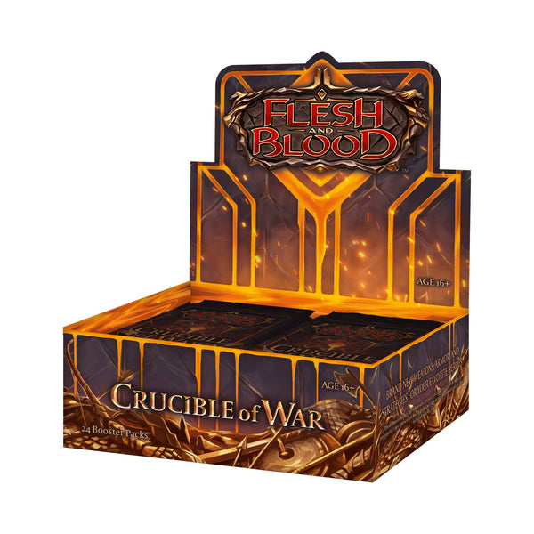 Flesh and Blood: Crucible of War Booster Display