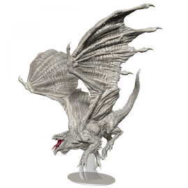 D&D Icons of the Realms: White Adult Dragon Premium Figure