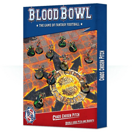 Blood Bowl - Chaos Chosen Double-sided Pitch and Dugouts Set