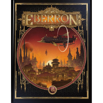 Dungeon's & Dragons - Eberron: Rising from the Last War (Alternate Cover) product-item1