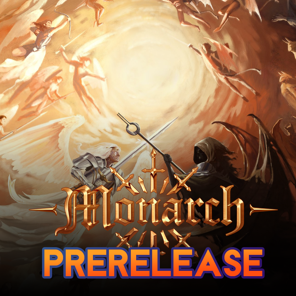 Flesh & Blood Monarch Prerelease - 12.00pm 1 May 2021