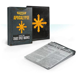Warhammer 40000: Apocalypse - Datasheet Cards: Chaos Space Marines