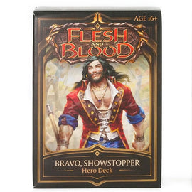 Flesh and Blood: Welcome to Rathe - Bravo, Showstopper Hero Deck